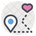Date Location Place Icon