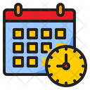 Date And Time Time Date Icon