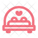 Love Bed Date Icon