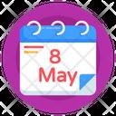 Calendar Almanac Date Reminder Icon