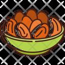 Dates Food Healthy Icon