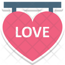 14 February Dating Heart Calendar Icon