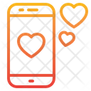 Smartphone Love Love Mobile Icon