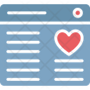 Heart Love Chatting Romantic Chat Icon