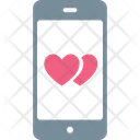 Love Chatting Love Message Mobile Screen Icon