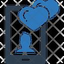 Mobile App Heart Icon
