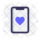 Mobile App Dating Icon