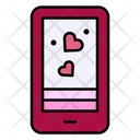 Dating App Smartphone Love Icon