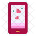 Dating App Smartphone Love Icon