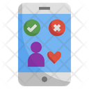 Dating App Phone App Icon