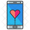 Dating Application Mobile Icon