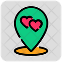 Dating Location Icon