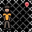 Dating Location Man Gps Icon