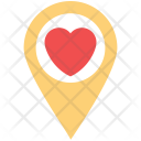 Pin Locator Sign Icon