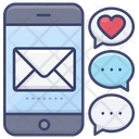 Dating Message Icon