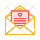 Loving Message Letter Icon