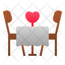 Dating table Icon