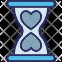 Heart Heart Hourglass Hourglass Icon