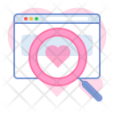 Browser Dating Search Icon