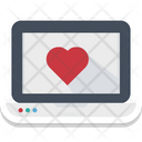 Dating Website Love Message Icon