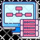 Datinterfaces Binary Database Binary Storage Icon
