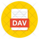Dav File Dav Folder Dav Document Icon