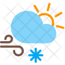 Day Snow Wind Icon
