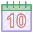 Day Month Wall Icon