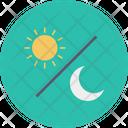 Sun Moon Day Icon