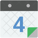 Daybook Calendar Wall Icon
