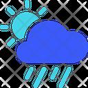 Day Heavy Rain Weather Cloud Icon