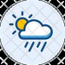 Day Heavy Rain Heavy Rain Day Icon