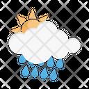 Day Rain Rain Sun Icon