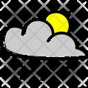 Cloud Snow Forecast Icon