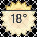 Day temperature Icon