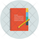 Daybook Diary Notebook Icon