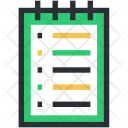 Daybook Memo Note Icon
