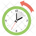 Daylight Saving Time Ends Icon