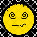 Dazed Confuse Face Icon