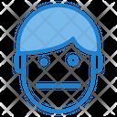 Dazed Emotion Face Icon