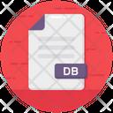 Db Db File File Format Icon