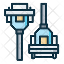 Db Male And Female Connector Icon