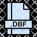 Dbf File File Extension Icon