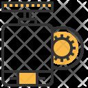 Dc Motor Energy Icon