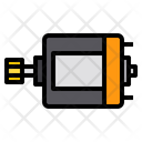 Dc Motor Electronics Icon