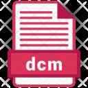 Dcm File Formats Icon