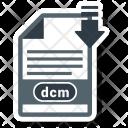 Dcm File Format Icon