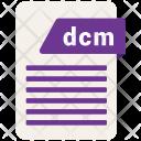 Dcm File Icon