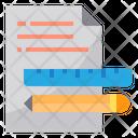 Equipment Deocument Write Icon