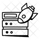 Cyber Attack Ddos Attack Server Ddos Icon